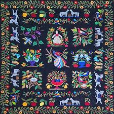 Hand Applique Baltimore Album QUILT TOP - incredible detailed masterpiece