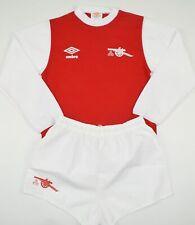 1978-1981 ARSENAL UMBRO FOOTBALL KIT (SIZE Y)