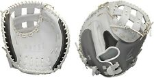 """Easton GHOST Adult 2020 Fastpitch Softball Series 34"""" Leather CATCHER Glove, RHT"""