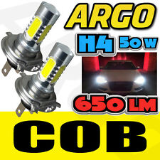 2x H4 UPGRADE SUPER WHITE COB CREE LED BULBS DIPPED BEAM HEADLIGHT BULBS LAMPS