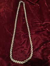 Vintage Russian Sterling Silver Chain 51 G