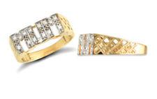 Anillos de joyería anillo con piedra oro