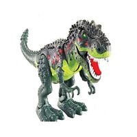 Kids Toy Walking T-Rex Dinosaur Toy Figure With Lights & Sounds Real Movement U