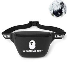 A Bathing Ape Bape Waist Bag Travel Daily Crossbody Shoulder Bag Pouch Chest Bag