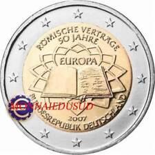 2 Euro Commémorative Allemagne 2007 - Traité de Rome