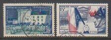 Francia - 1954, 2 X emitido sellos-F/U-SG 1221/2