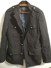 Express Jacket Heavy Cotton Black Men's Small Nice Pre-Owned Condition