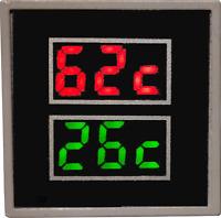 Dual Marine Exhaust Temperature Alarm,  Gauge, Monitor, Sensor  SM013
