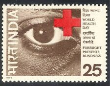 Indian Medical & Red Cross Postal Stamps