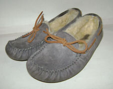 f4a220286ca7 UGG Australia Womens Dakota Pewter Gray Moccasin Slippers Shoes Size 6.5 SN  5612