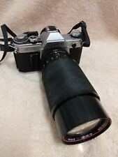 Canon AT-1 Film Camera w/70-210mm Zoom vivitar Lens