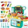 26Pcs/Set Simulation Kitchen Toy Dinnerware Children's Pretend Role Play Toys
