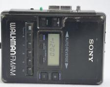 SONY WALKMAN WM-BF62 AM/FM STEREO RADIO CASSETTE PERSONAL TAPE PLAYER
