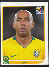 Panini Football Sticker - 2010 World Cup - No 491 - Brazil - Luisao