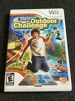 ACTIVE LIFE OUTDOOR CHALLENGE - Wii - COMPLETE WITH MANUAL - FREE S/H - (D)
