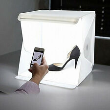 Mini LED Studio Photo Box Portable Folding Light Box Studio Softbox