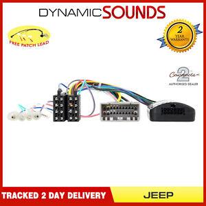 CTSJP002 Steering Wheel Stalk Control Adaptor for Jeep Grand Cherokee 2005-2010