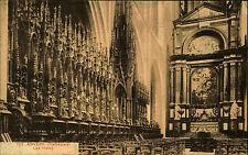 Anvers Antwerpen Belgique s/w ~ 1910 cathédrale les boue vue intérieure altarraum