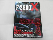 N64 -- F Zero X Official Guide Book -- JAPAN Game Book. 36958