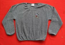 WALT DISNEY WORLD ~ Olive Green Mickey Mouse Sweater ~ Size Juniors LARGE L