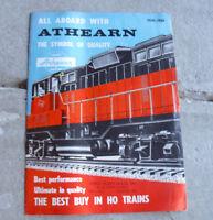 Vintage 1959 60 Athearn HO Scale Train Catalog