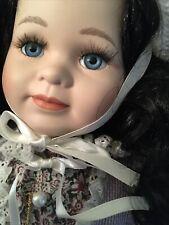 18� Marie Osmond Country Girls Series Porcelain Doll Sarita New W/O Box 339/2500