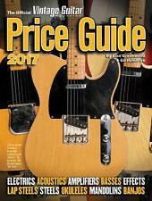 Official Vintage Guitar Magazine Price Guide 2017 REFERENCE Music Book