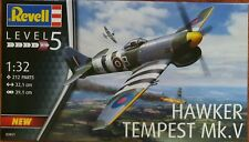 Revell Model Kit Hawker Tempest Mk.V Level 5 1:32 212 Parts NEW