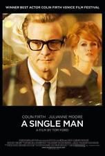 A SINGLE MAN Movie POSTER 27x40 Colin Firth Julianne Moore Matthew Goode