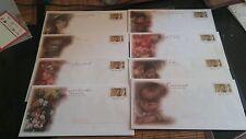 Lot de 8 enveloppes Prêt à Poster illustrées Auguste Renoir - Lettre prioritaire