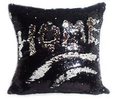 Magic sequin mermaid reversible two tone glitter pillow sofa cushion or cover