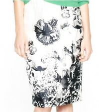 J.Crew Photo Floral Pencil Skirt Collection Silk Wool 2