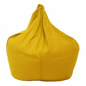 Bean bag Cover Cotton XXL chair without Bean Yellow Luxuries Home Decor Gift