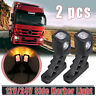 Red Amber White LED Side Marker Light Indicator Outline Lamp Trailer Truck Lorry