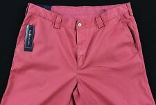 Men's POLO RALPH LAUREN Soft Red Chino SUFFIELD Pima Cotton Pants 36x30 NWT NEW