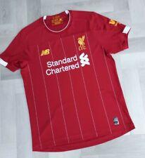 More details for genuine  new balance liverpool fc home football shirt 2019-2020  xl boy,s