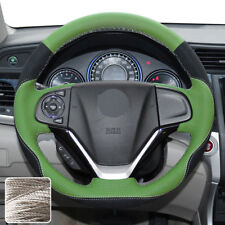 Fresh Steering Wheel Cover Hand Stitch Sew Wrap for Honda CRV CR-V 2012-16 14 15