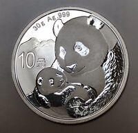 2019 China 30 g Silver Panda 10 Yuan Coin Brilliant Uncirculated