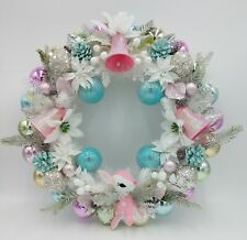 Baby Deer Pastel Christmas Ornament Wreath