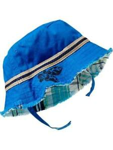 Old Navy Reversible Canvas Sun Hats - Royal Blue (ON-03)