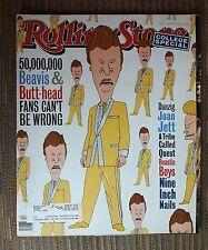 Beavis & Butt Head Joan Jett Rolling Stone Magazine  Issue # 678 March 24, 1994