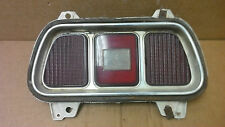 '71 - '73  Ford Mustang  tail light with aluminum bezel  OEM