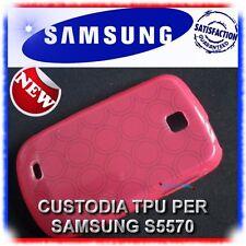 2X Pellicola+Custodia ROSA per Samsung Galaxy Next S5570 (B4)