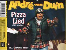 ANDRE VAN DUIN - Pizza lied (effe wachte) 4TR CDM 1993 DUTCH / CARNAVAL