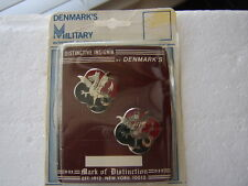 530th SUPPLY & SERVICES BATTALION DI DUI CREST IN PACK DATED 1977 PAIR:KY