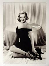 Marilyn Monroe Vintage Pin-up Dressed to Kill Black Dress & Heels FIRE HOT photo