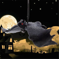 1PC Halloween Party Soft Rubber Home Hanging Bat Adornment Garden Decoration New