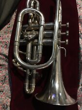 BESSON CORNET NICE HORN NEW STANDARD MID 60's GREAT SHAPE PLAYER