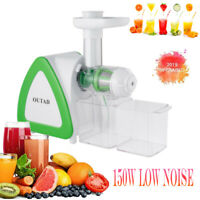 Slow Juicer,OUTAD Slow Masticating Juicer Extractor Professional Machine ,NEW