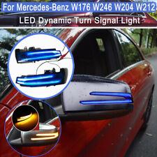2x LED Dynamische Spiegel Blinker Außenspiegel Für Mercedes W204 W212 W221 X204